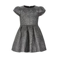 Kjole Med Sølv - 1120
