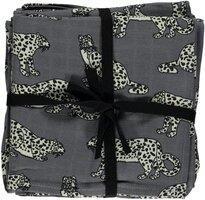 Stofbleer med Leopard - 3-pak