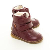 TEX Velcro Støvle - Vinrød