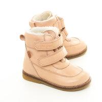TEX Velcro Støvle - Rosa