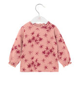 Langærmet T-Shirt - 811 Rosa
