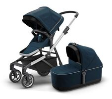 Thule Sleek Med Liggedel - Navy Blue
