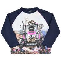 Langærmet T-shirt - 7721