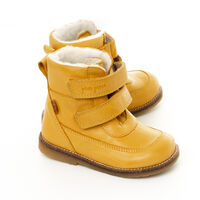 TEX Velcro Støvle - Mustard