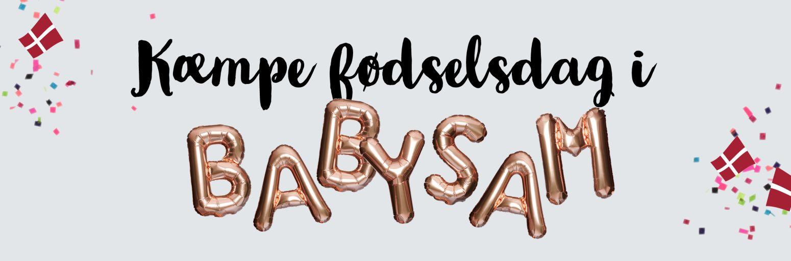 Fødselsdag hos BabySam