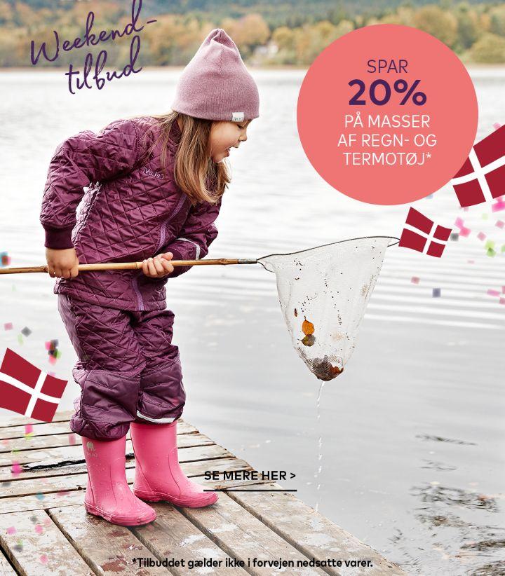 Termo & regntøj til børn
