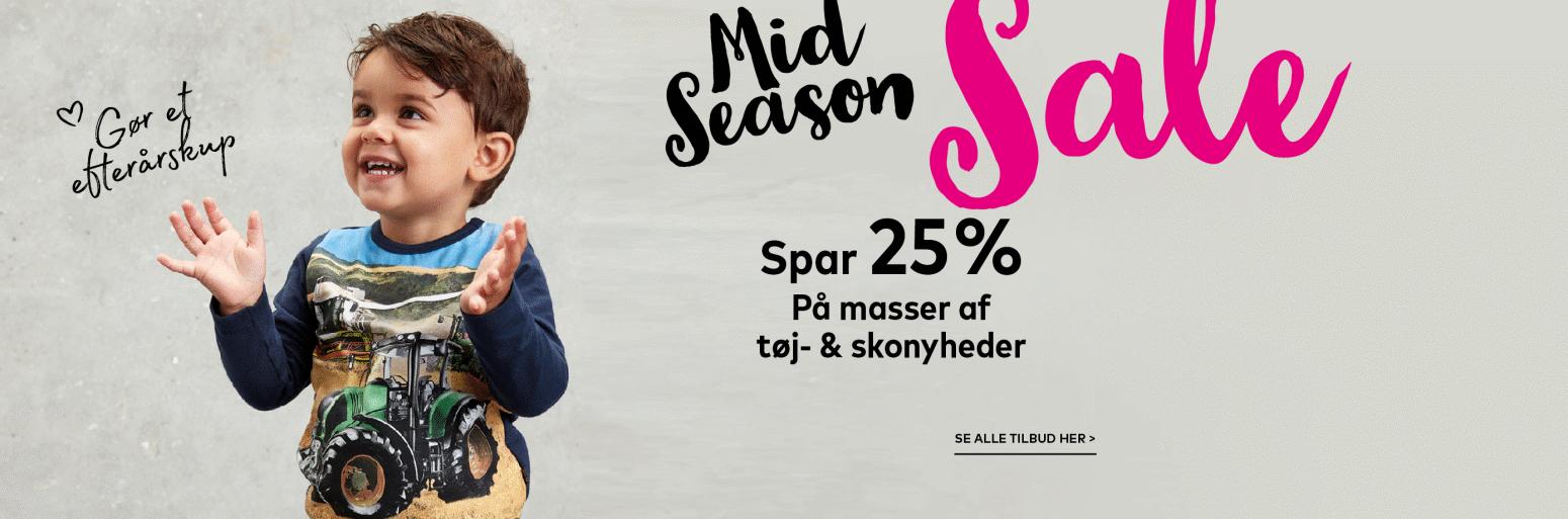Midseason sale