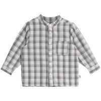Langærmet Skjorte Med Lomme - 1292 Greyblue
