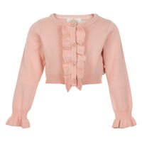 Cardigan Kort Model - 5514 Crystal Pink