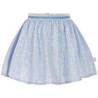 Nederdel Med Sølv Stribe - 7749 Xenon Blue