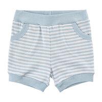 Stribede Shorts - 734 Celestial Blue