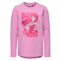 Tippi 109 Langærmet T-shirt - Pink