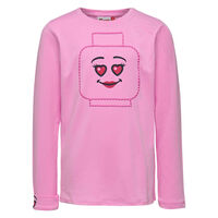 Tippi 105 Langærmet T-shirt - Pink