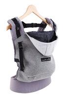 Hoodie Carrier Bæresele - Flannel Grey