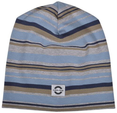 Bomuldshat Multi Stripe - 287 Blue Nights