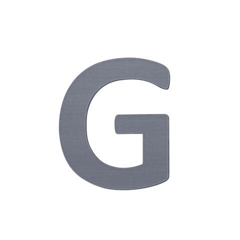 G - Træbogstav - Grå