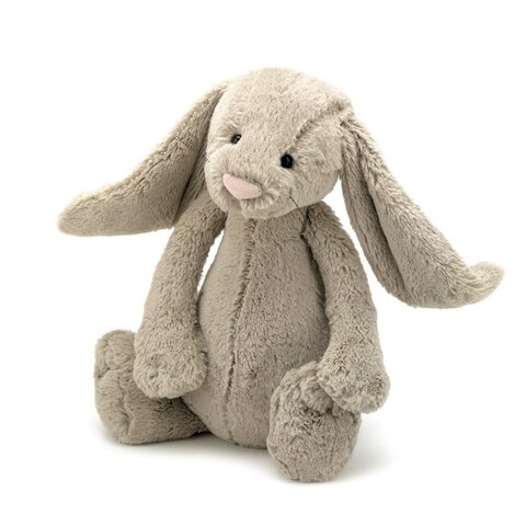 Kanin Bamse - JellyCat - Beige - Stor