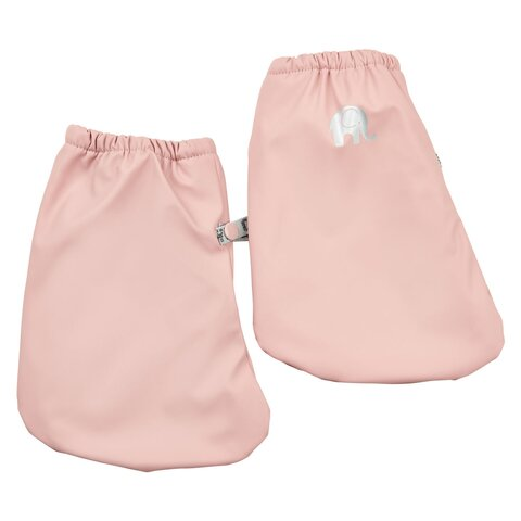 PU-footies Med Foer - Pink 524