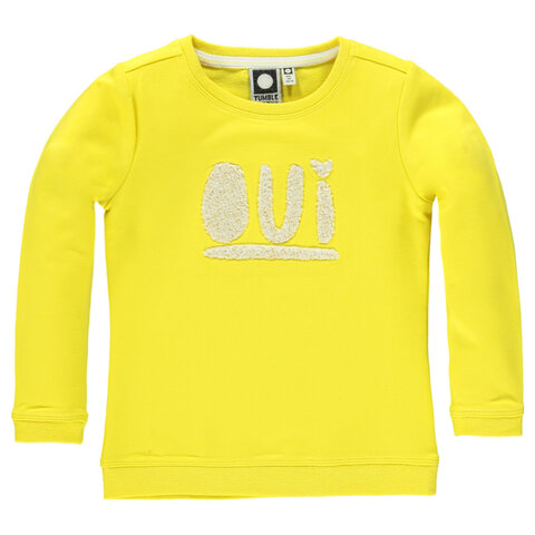 Amberly Sweatshirt - Yellow Corn