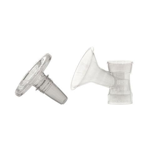 Tragt -  31 mm M/Silikoneindlæg