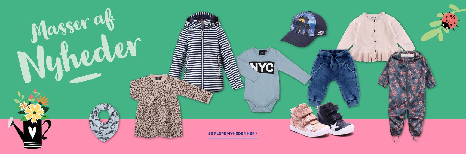 Tøj nyheder hos BabySam