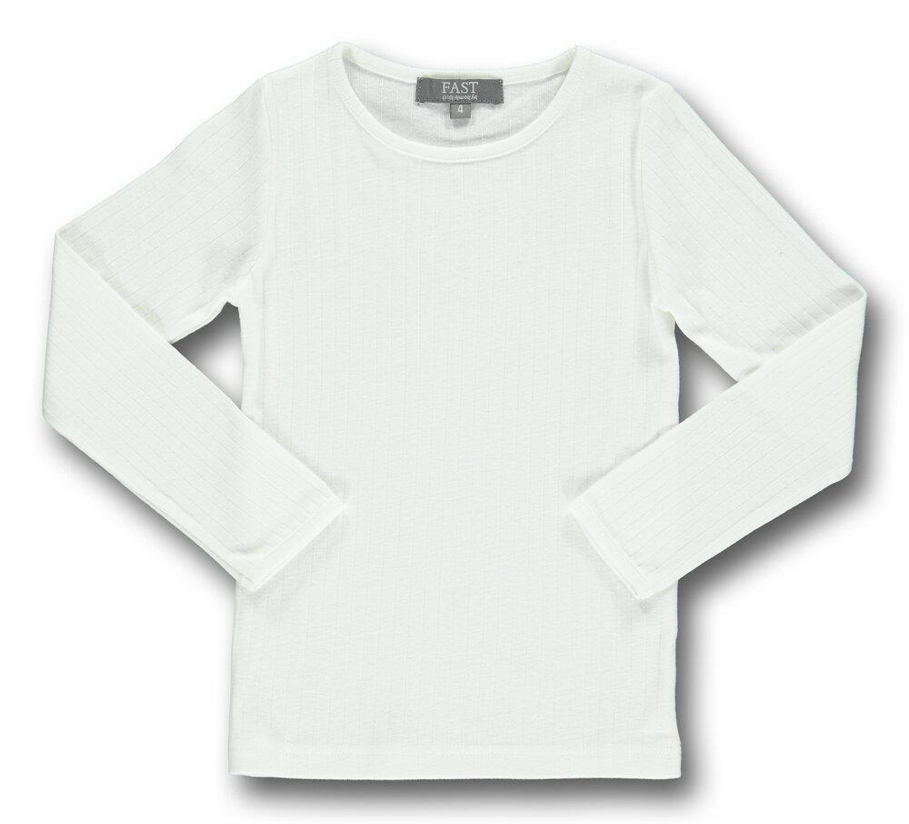 Image of   Bombibitt T-shirt L/s Ensf. - White/010