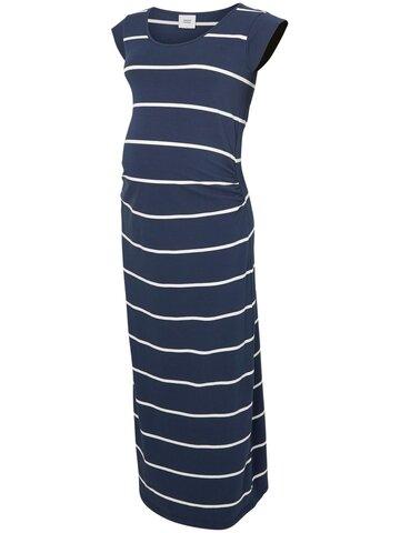 navy maxi kjole