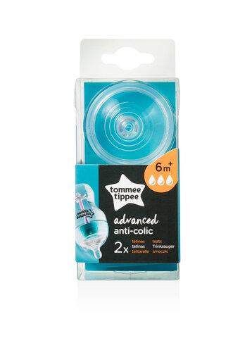 Antikolik Flaskesut Fast 2 stk 6+ mdr.