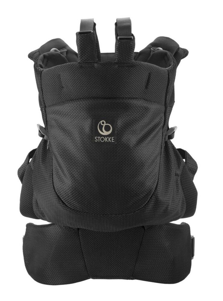 Stokke® MyCarrier™ Back Carrier - Black Mesh thumbnail