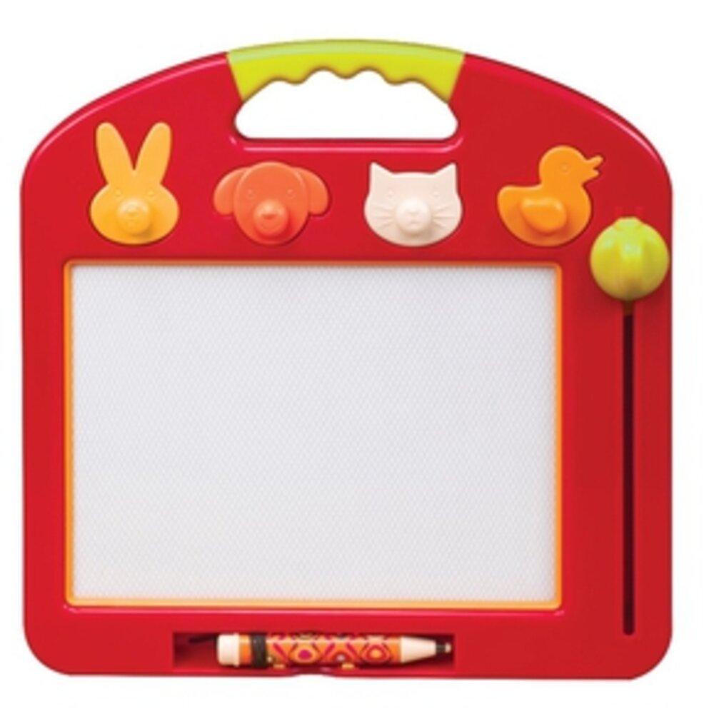 Image of   B Toys Magnetisk tegnetavle, rød