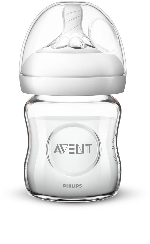 Image of   Philips Avent Natural Glas Flaske, 120 ml.