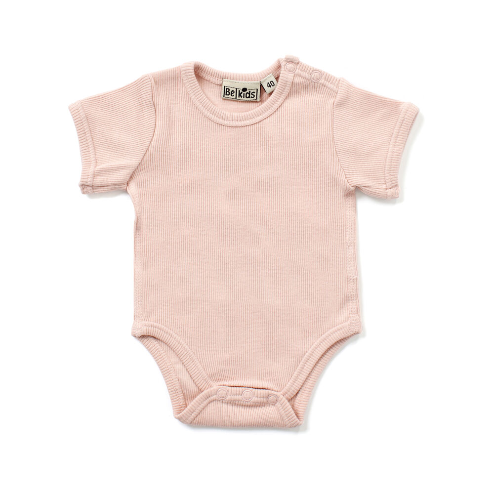 Image of   BeKids Rib Bluse - 521/Peach Whip