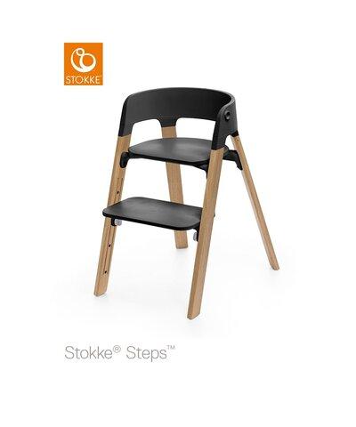 Steps™ Højstol, Eg - Natur