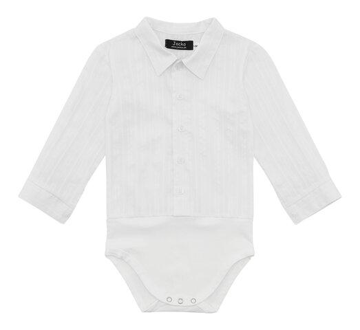 Skjorte-body - Hvid
