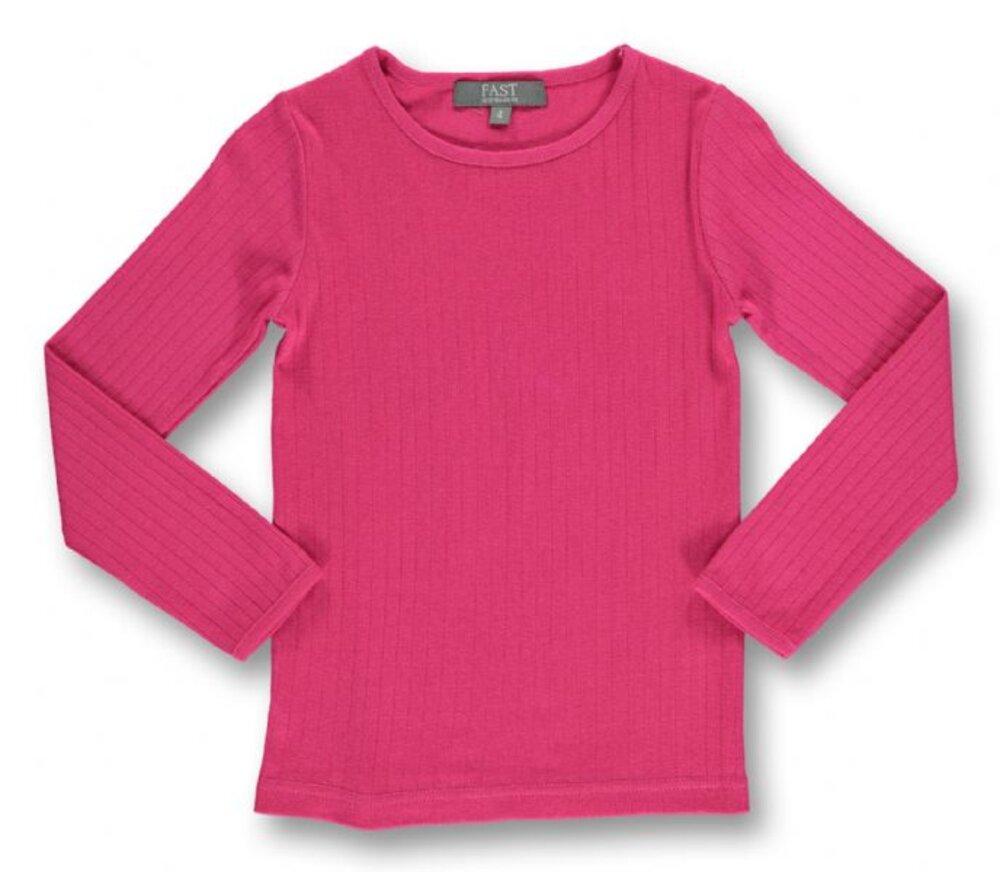Image of   Bombibitt T-shirt L/s Ensf. - Pink/024