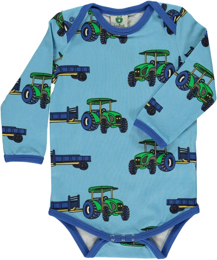 Småfolk Body Med Traktor - 701 Air Blue thumbnail