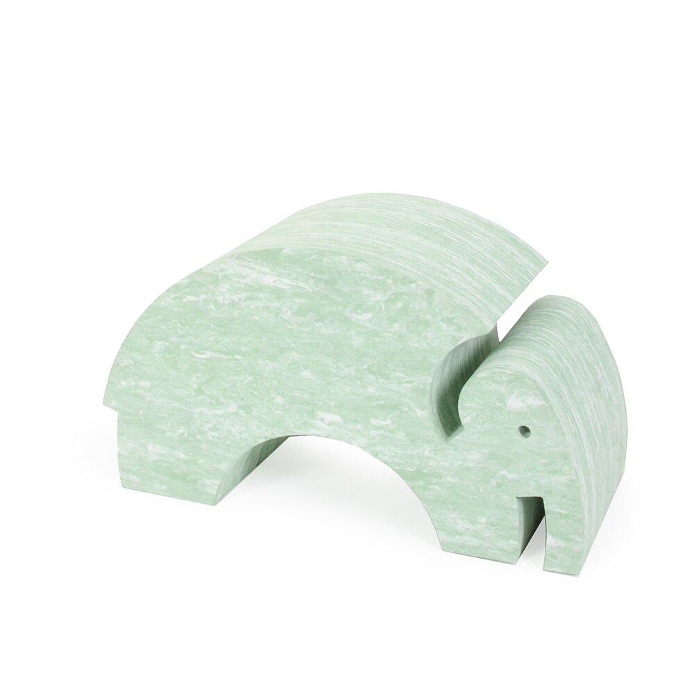 Image of   bObles Elefant - Marmor - Lys Grøn