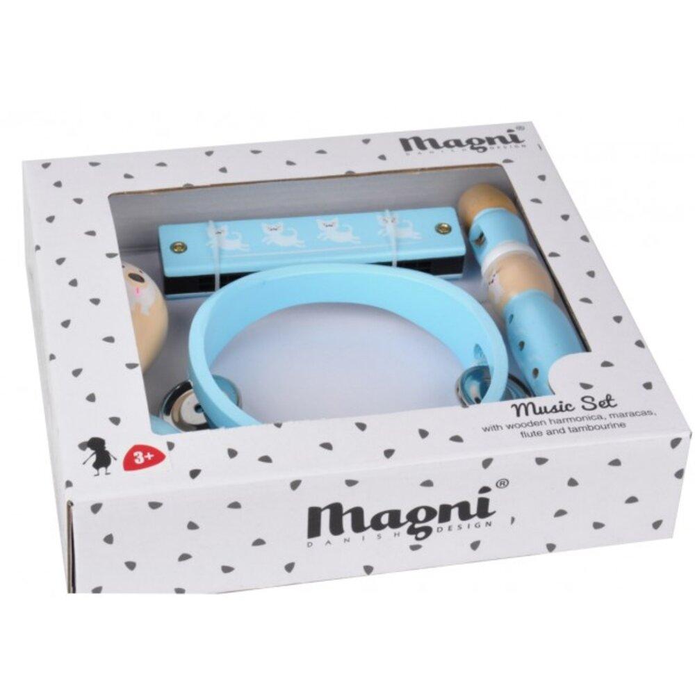 Image of   Magni Musiksæt, blåt