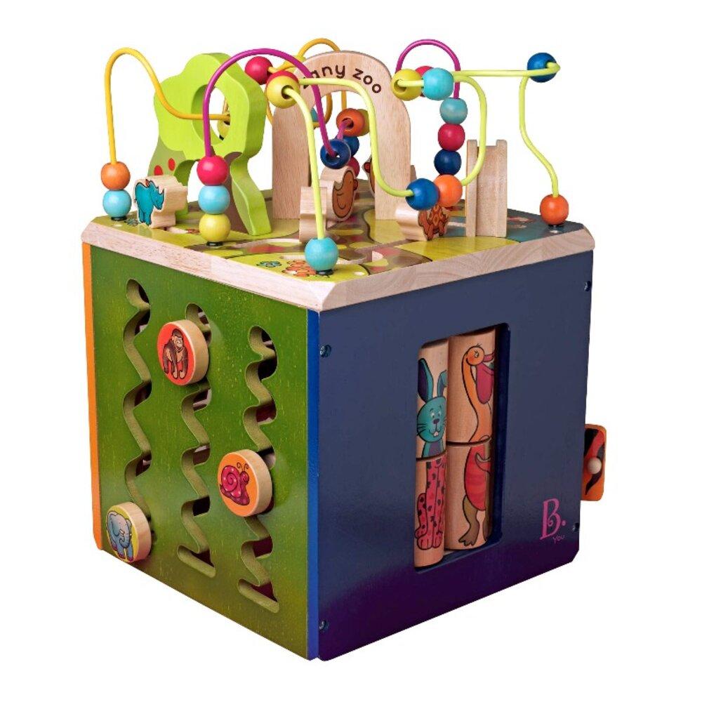 Image of   B Toys Zany Zoo aktivitets legeplads