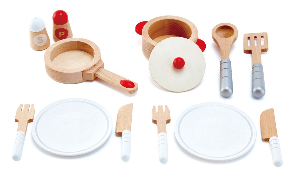 Image of   Hape Cook & Serve Set