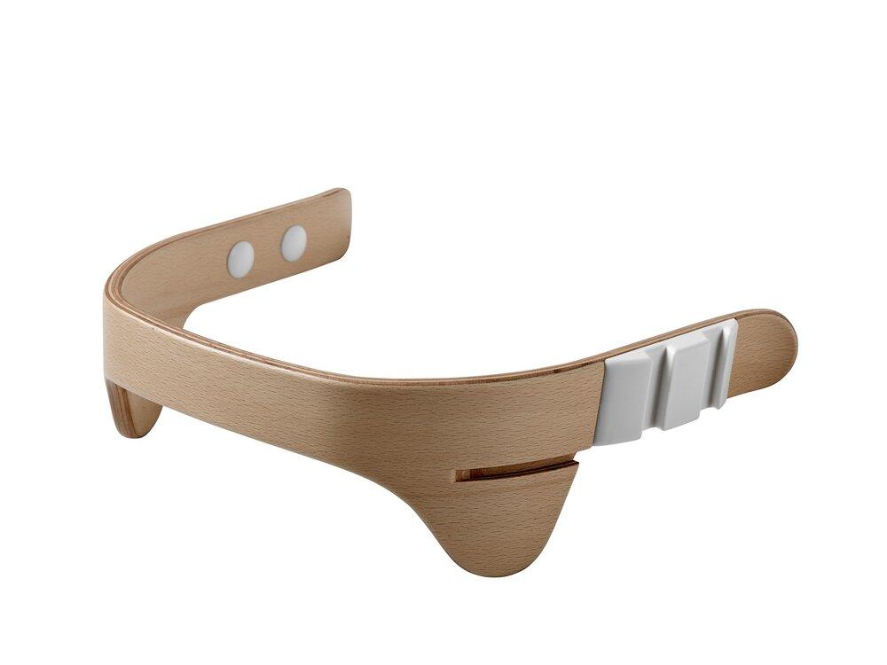 Image of   Leander® bøjle til højstol inkl. læderstrop - Natur - Strop: brun