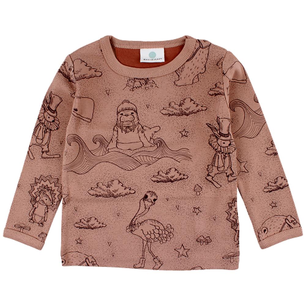 Image of   En Fant Forrest Langærmet T-shirt - 20-56 Rosa