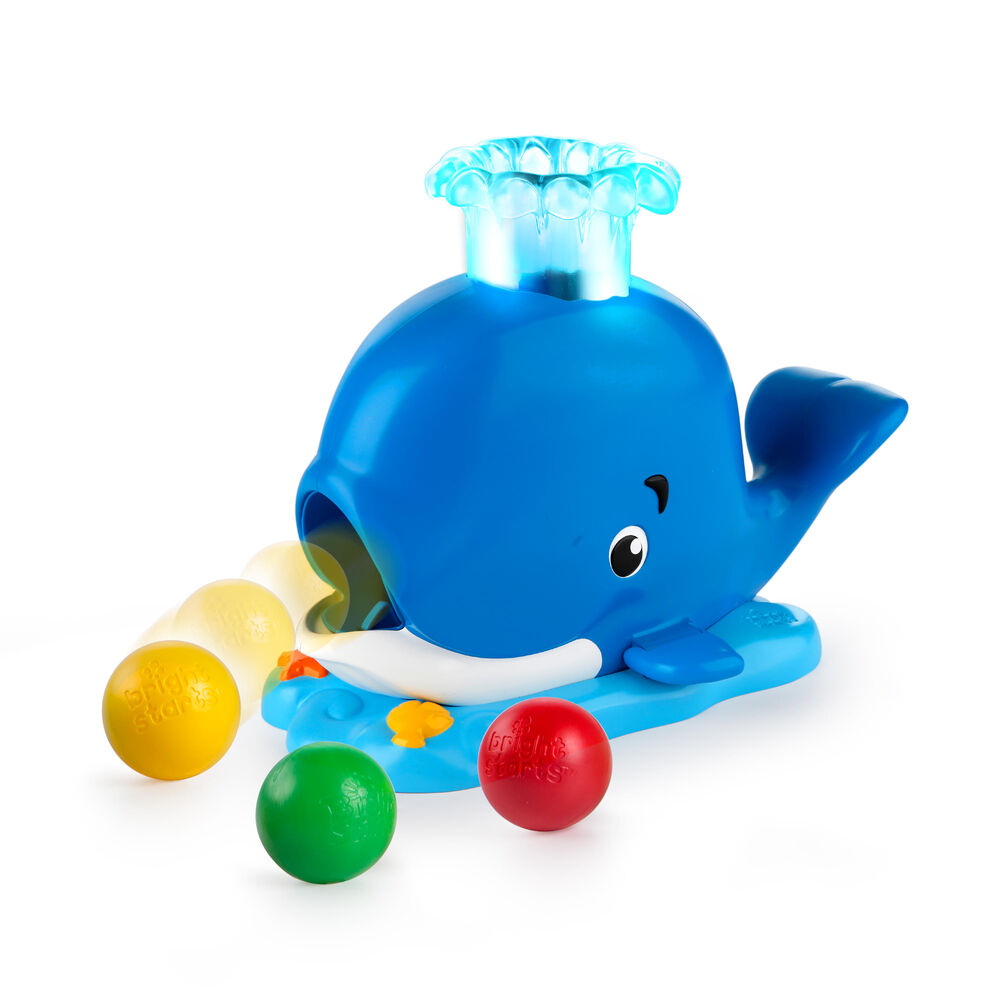 Image of   Bright Starts Silly Spout Whale Popper