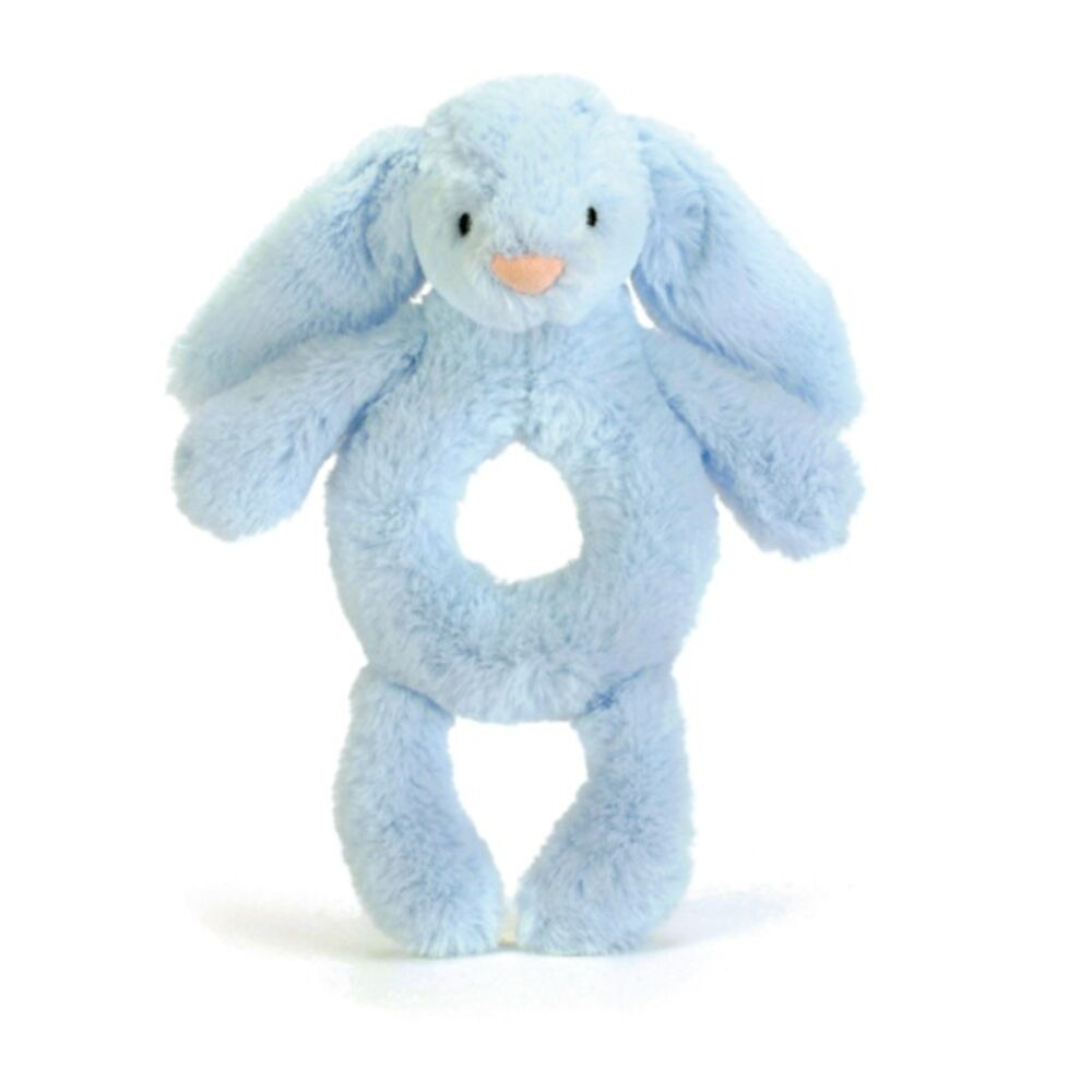 Image of   JellyCat Kanin Rangle - Lyseblå