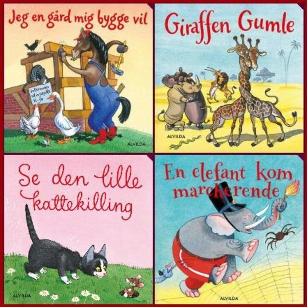 Image of   Alvilda Elefantiske børnesange