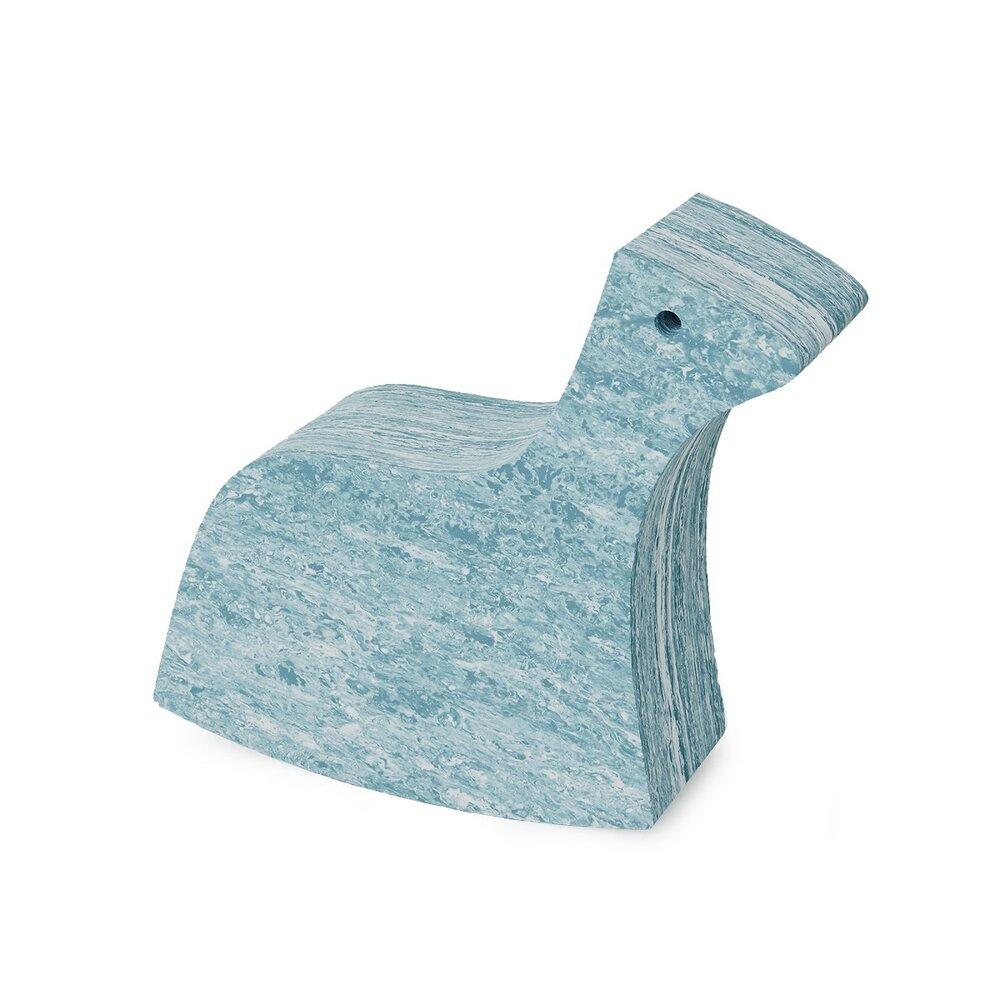 Image of   bObles Hest - Lys Blå Marmor