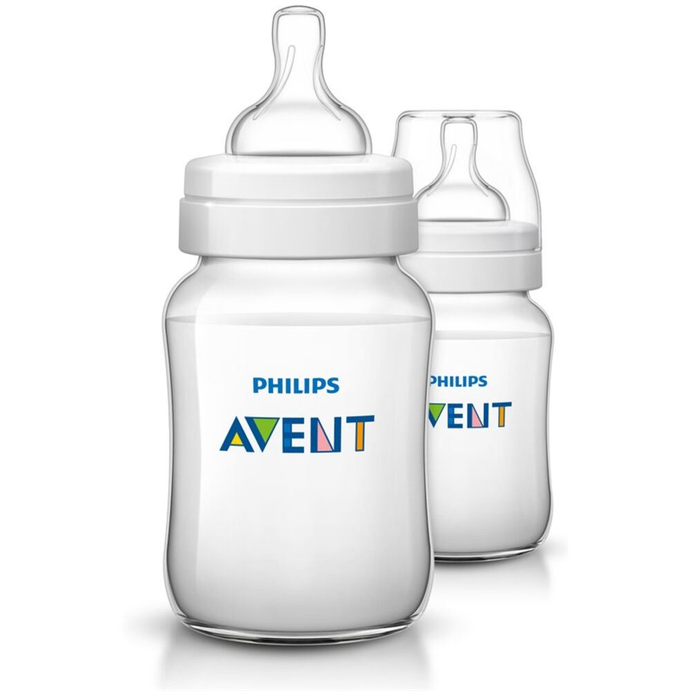 Image of   Philips Avent Classic+ 260 ml(PP)2 pack