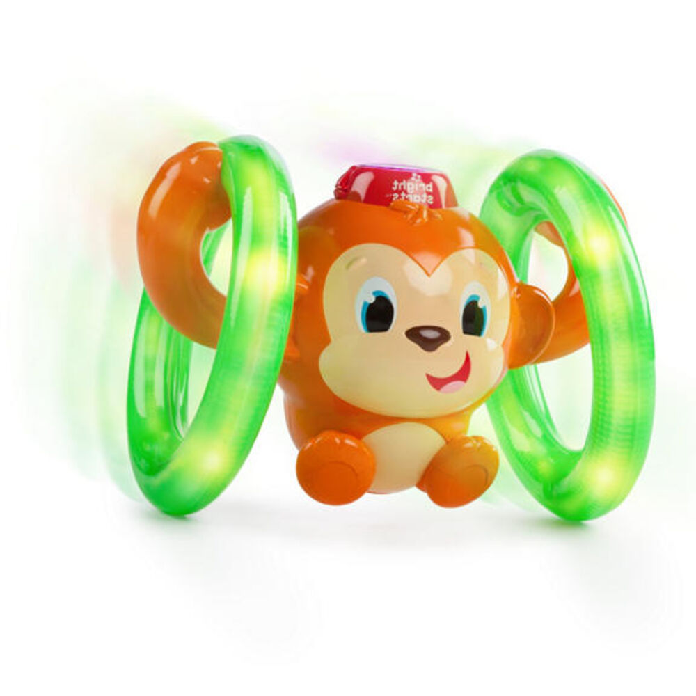 Image of   Bright Starts Roll & Glow Monkey