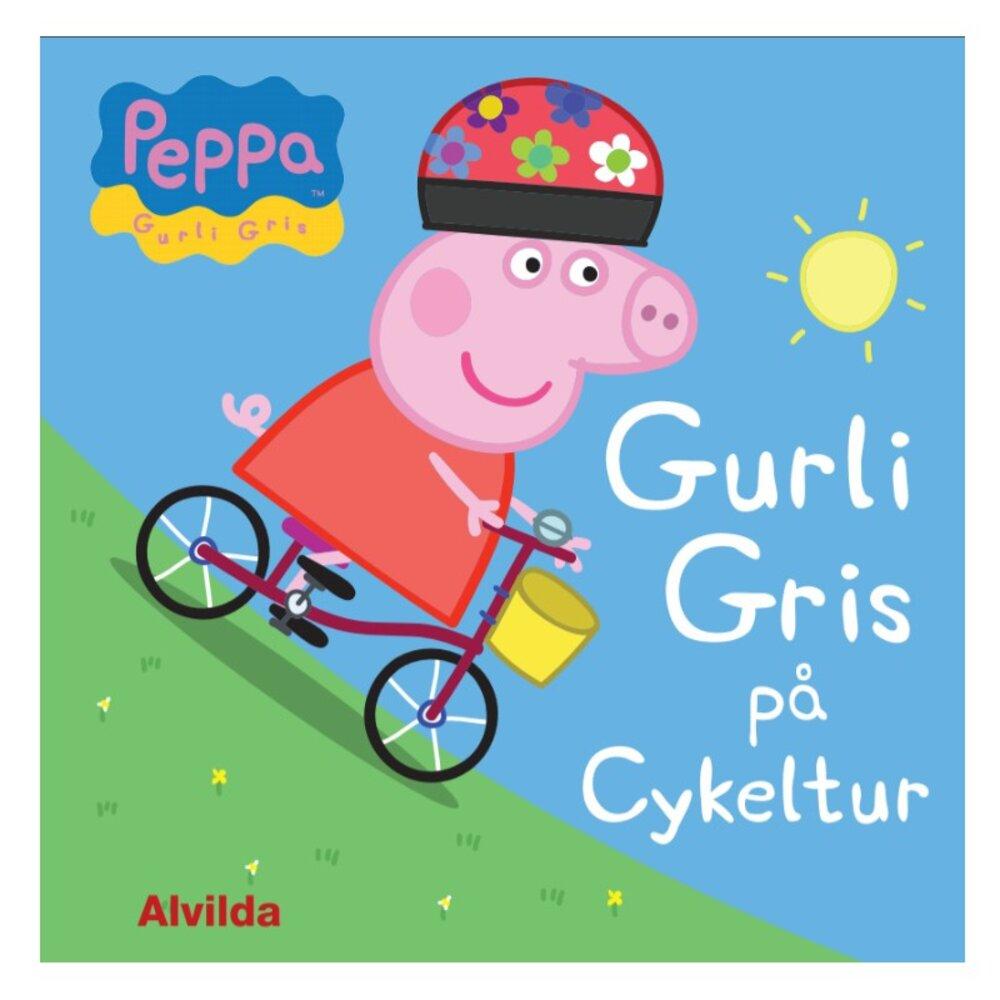 Image of   Alvilda Gurli Gris på cykeltur