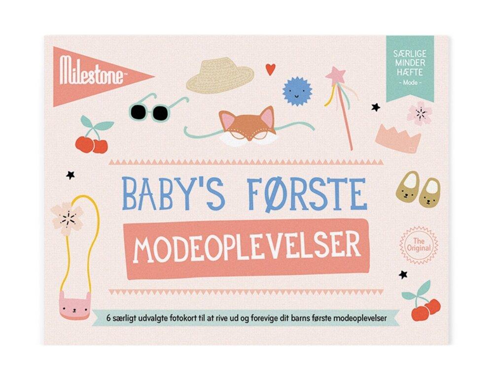 Milestone Baby's Første Modeoplevelser thumbnail